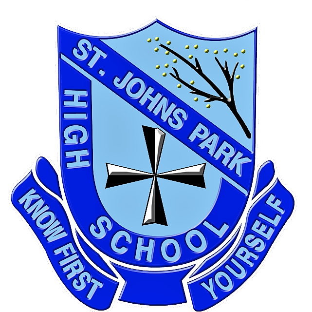 St Johns Park High School logo